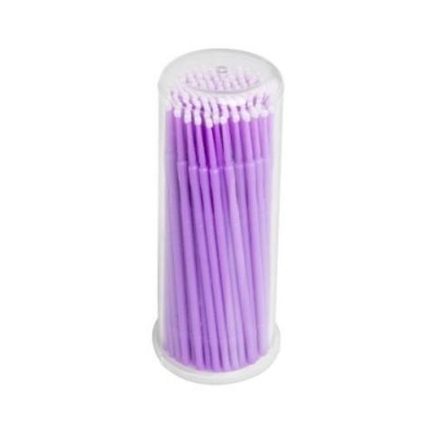 Микробраши в колбе 2,5 мм светло-фиолетовые