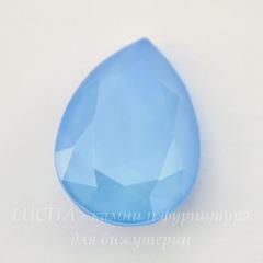 4320 Ювелирные стразы Сваровски Капля Crystal Summer Blue (18х13 мм)