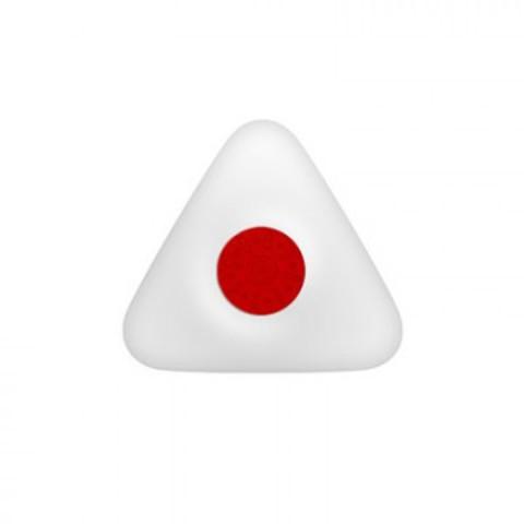 Ластик Attache треугольный с пластиковым держателем 41x39x12 мм