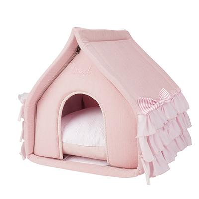 розовый домик для собаки
