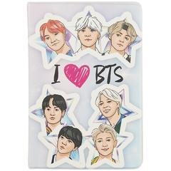 Обложка для паспорта. I love BTS