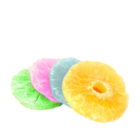 Цукаты ананас (кольца) микс, 1кг