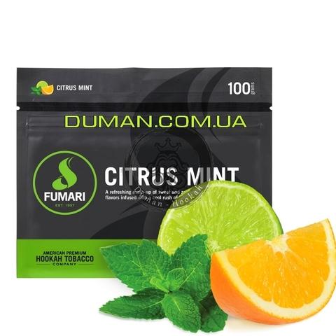 Табак Fumari Citrus Mint (Фумари Цитрус с Мятой) | На вес 25г