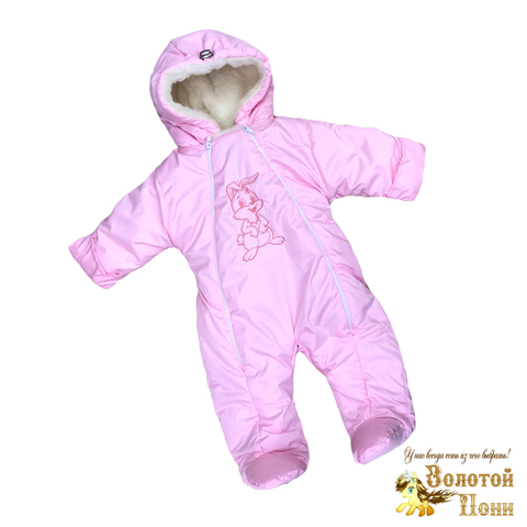 Комбинезон на меху детский (68-80) 201103-Z5084