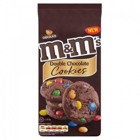 Печенье M&M's Double chocolate с двойным шоколадом 180 гр