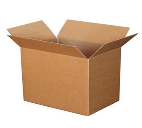 Коробка картонная 400х300х320 гофрокороб бурый