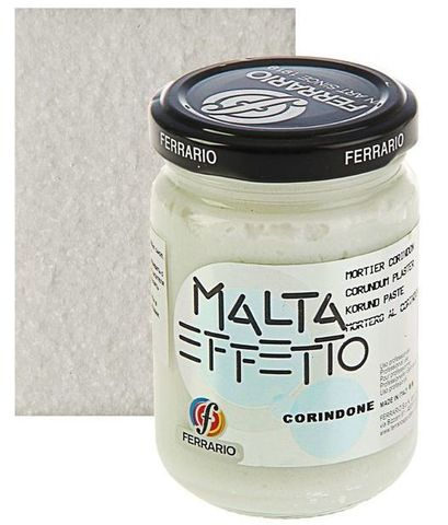 Паста текстурная Ferrario MALTA, эффект: Корунд, 300 мл