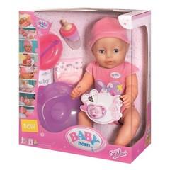 ZAPF Игрушка BABY born Кукла-девочка интерактивная, 43см (820-414)