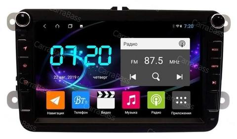 Магнитола для Volkswagen/Skoda Android 8.1 4/64 IPS DSP модель CB2143T9