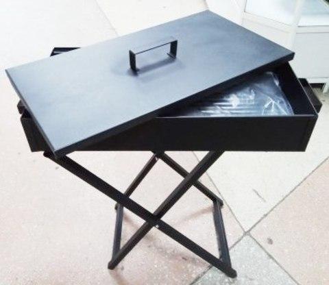 Мангал BBQ 5230-60 (60х30х10) высота 50/60см, крышка, толстый металл