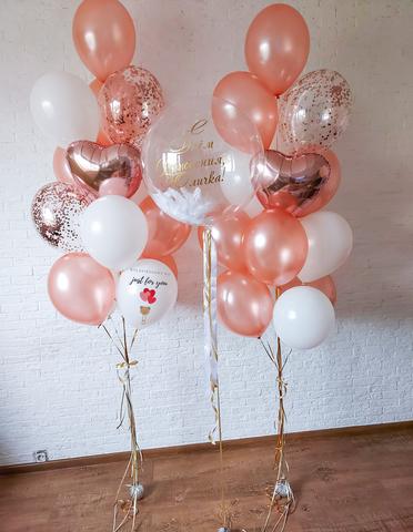 Заказать шарики для девушки