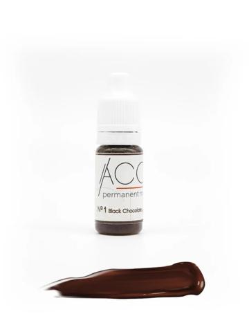 """Пигмент для бровей """"ACCENT"""" №1 Black Chocolate (темный шоколад)"""