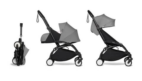 Прогулочная коляска Babyzen  Yoyo 2 Black frame Grey