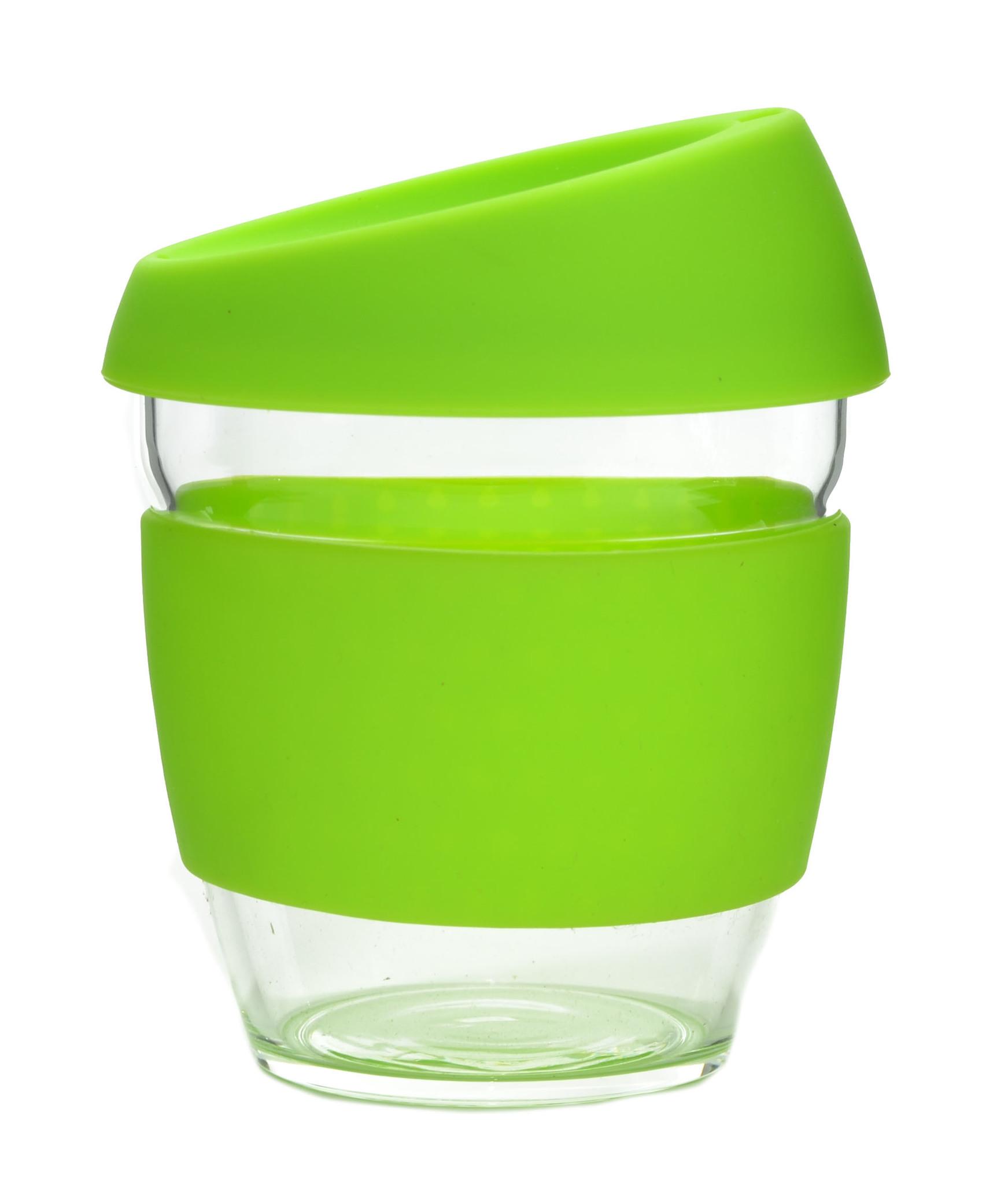 Кружка Coffee Cup из боросиликатного стекла 226 мл. салатовый