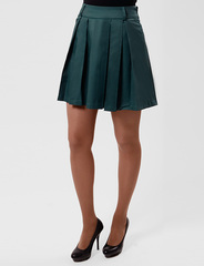 2498-2 юбка зеленая