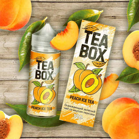 Жидкость Tea Box 120 мл Peach Ice Tea