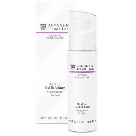 Janssen Oily Skin: Биокомплекс-гель для жирной кожи лица с фруктовыми кислотами (Bio-Fruit Gel Exfoliator)