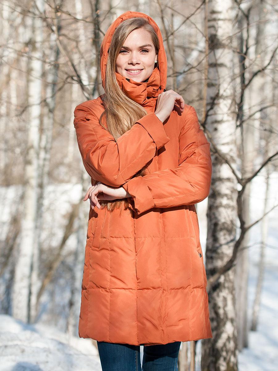 Joutsen пуховик Alison жженый апельсин