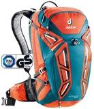 Картинка рюкзак велосипедный Deuter Attack 20 Papaya-Petrol -
