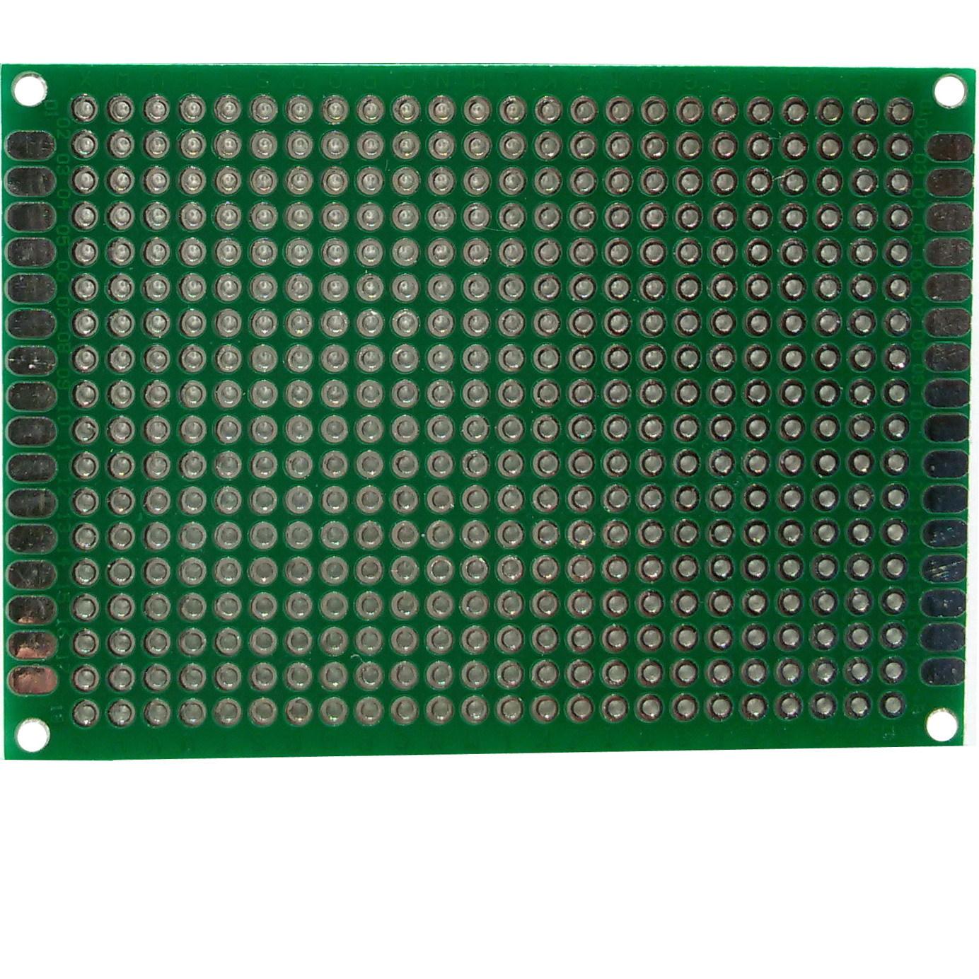 PCB макетная плата 5х7 см