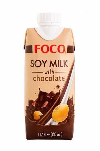 FOCO соевый напиток Шоколадный 330 мл