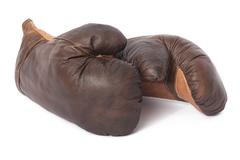 Боксерские перчатки Secret De Maison Панч (PUNCH) ( mod. M-1202G ) — коричневый