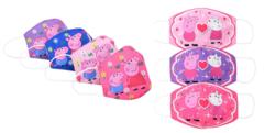 Маска защитная детская Розовая Свинка