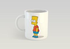 Кружка с рисунком из мультфильма Симпсоны (The Simpsons) белая 0014