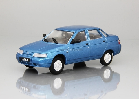 VAZ-2110 Lada 110 1995 light blue 1:43 DeAgostini Auto Legends USSR #226