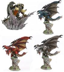 Monster Hunter Драконы в ассортименте