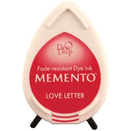 Штемпельная подушечка mini - MEMENTO - Love Letter