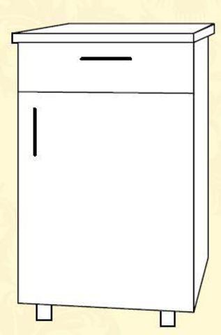 ШН1Я 400 Шкаф нижний 1 ящик