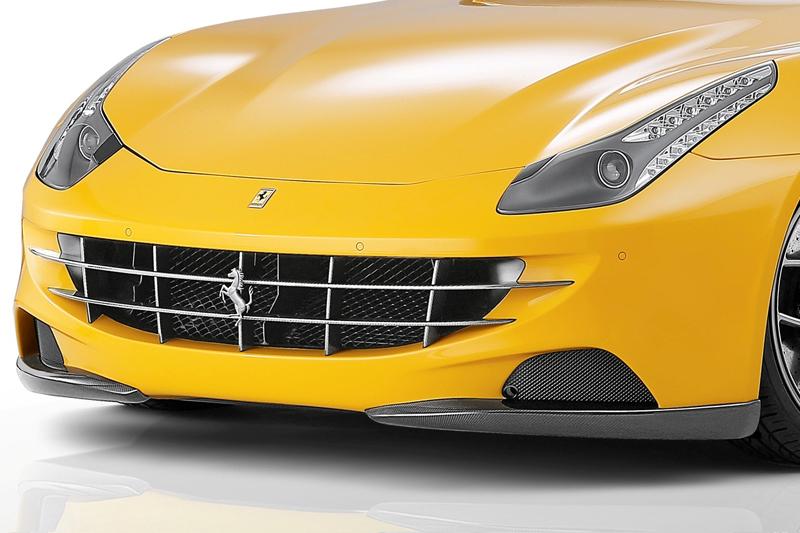 Карбоновый спойлер переднего бампера Novitec Style для Ferrari FF