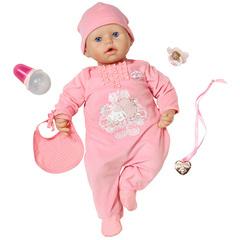 Zapf Creation Baby Annabell Кукла с мимикой, 46см (794-036)