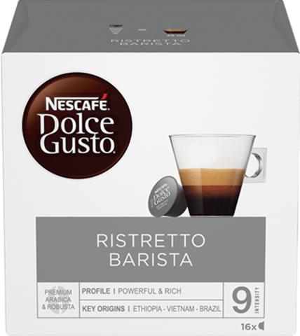 Кофе в капсулах Nescafe Dolce Gusto Barista RISTRETTO (16 капс.)
