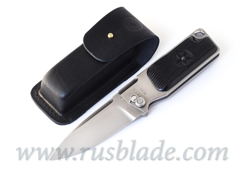 Custom Urakov TT33 M390 steel Folding knife