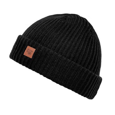 Шапка Horsefeathers AGAIN BEANIE (black)