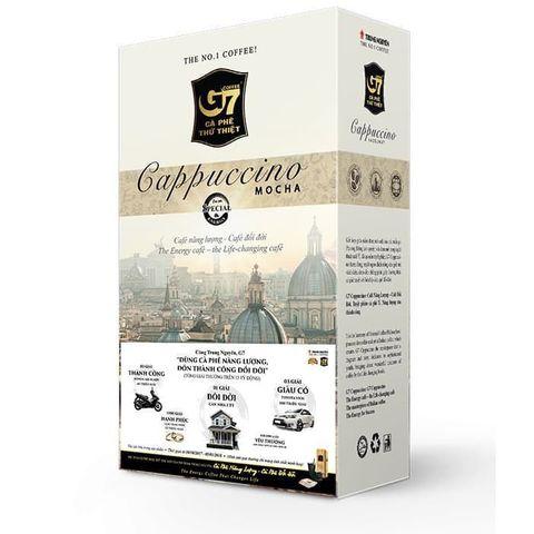 Растворимый кофе капучино 3в1 Trung Nguyen вкус КОКОСА. Коробка 12х12 штук.