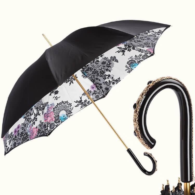 Зонт-трость Pasotti 5W013-9 C49 Beautiful Lady