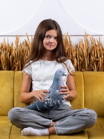 Мягкая игрушка-подушка Gekoko «Сизая Голубка» 4