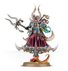 Ahriman, Arch-Sorcerer of Tzeentch. Ариман во всей красе