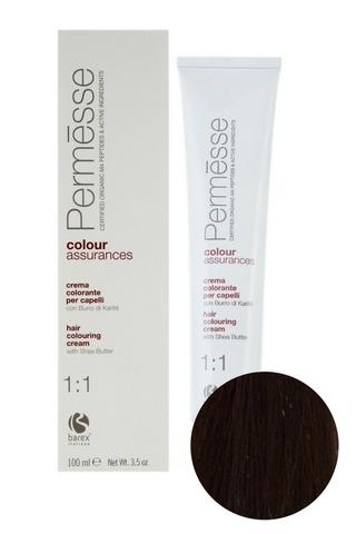 Крем-краска для волос 7.1 Блондин пепельный Permesse, Barex
