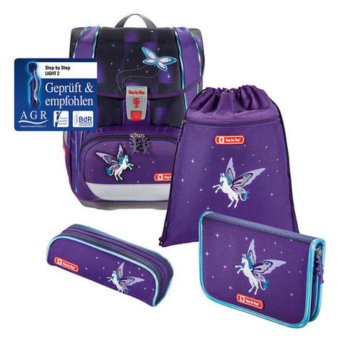Ранец Step By Step Light2 Pegasus Dream фиолетовый 4 предмета