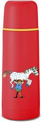 Термос детский Primus Vacuum bottle 0.35 Pippi Red