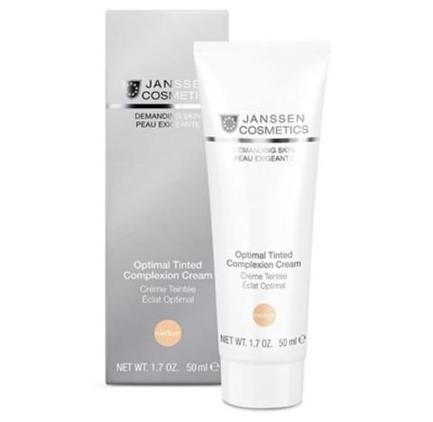 "JANSSEN COSMETICS Дневной крем ""Оптимал Комплекс"" Medium (SPF 10) | Optimal Tinted Complexion Cream Medium"
