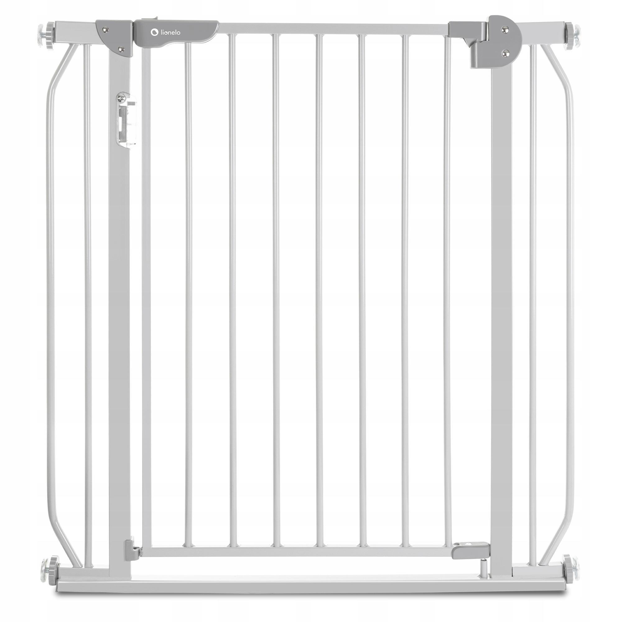 Ворота безопасности Lionelo LO-Truus Slim LED Grey 75-105 cм