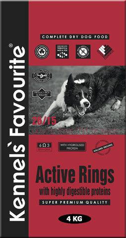 Kennels` Favourite Active Rings Для молодых собак 4 кг.