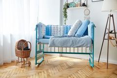 Комплект постельного белья для новорождённых Мишка 9-03