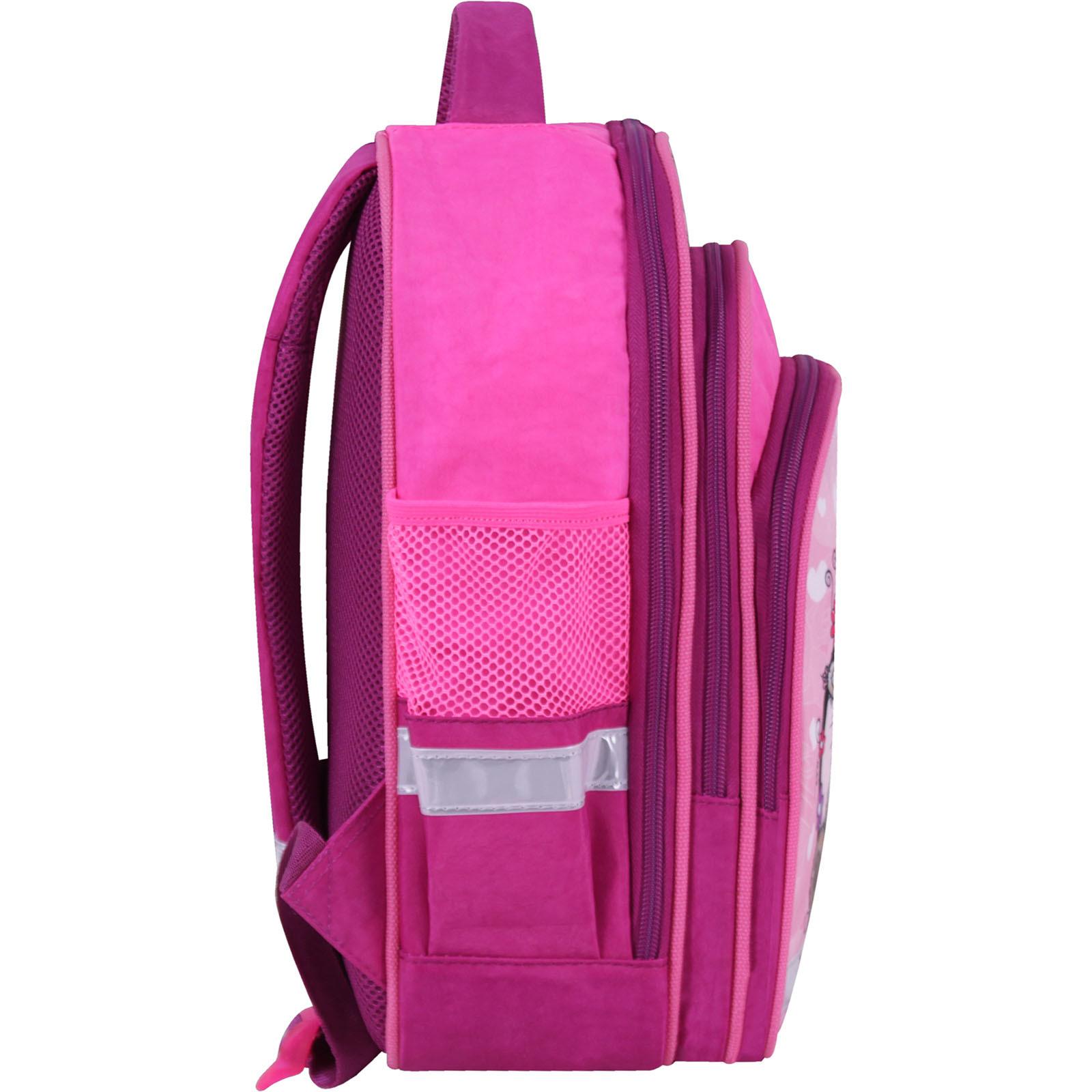 Рюкзак школьный Bagland Mouse 143 малиновый 686 (00513702)