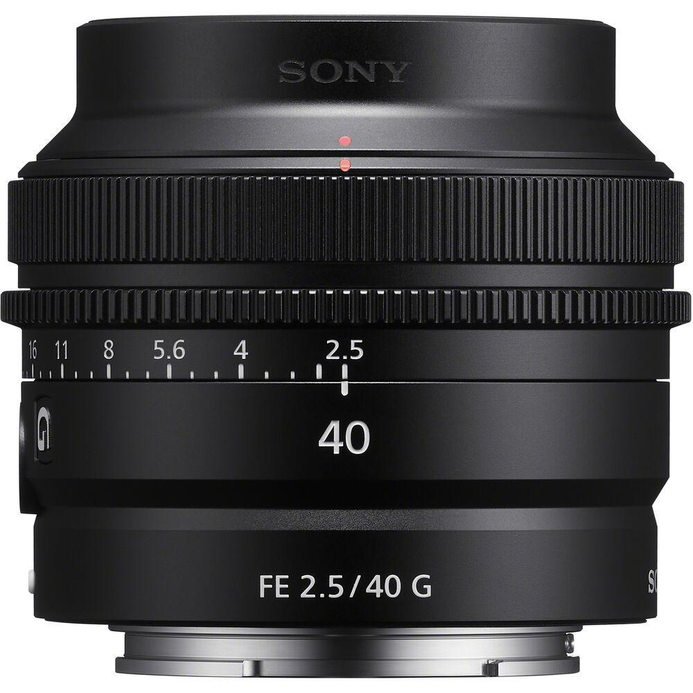 Объектив SEL-40F25G купить в Sony Centre Воронеж